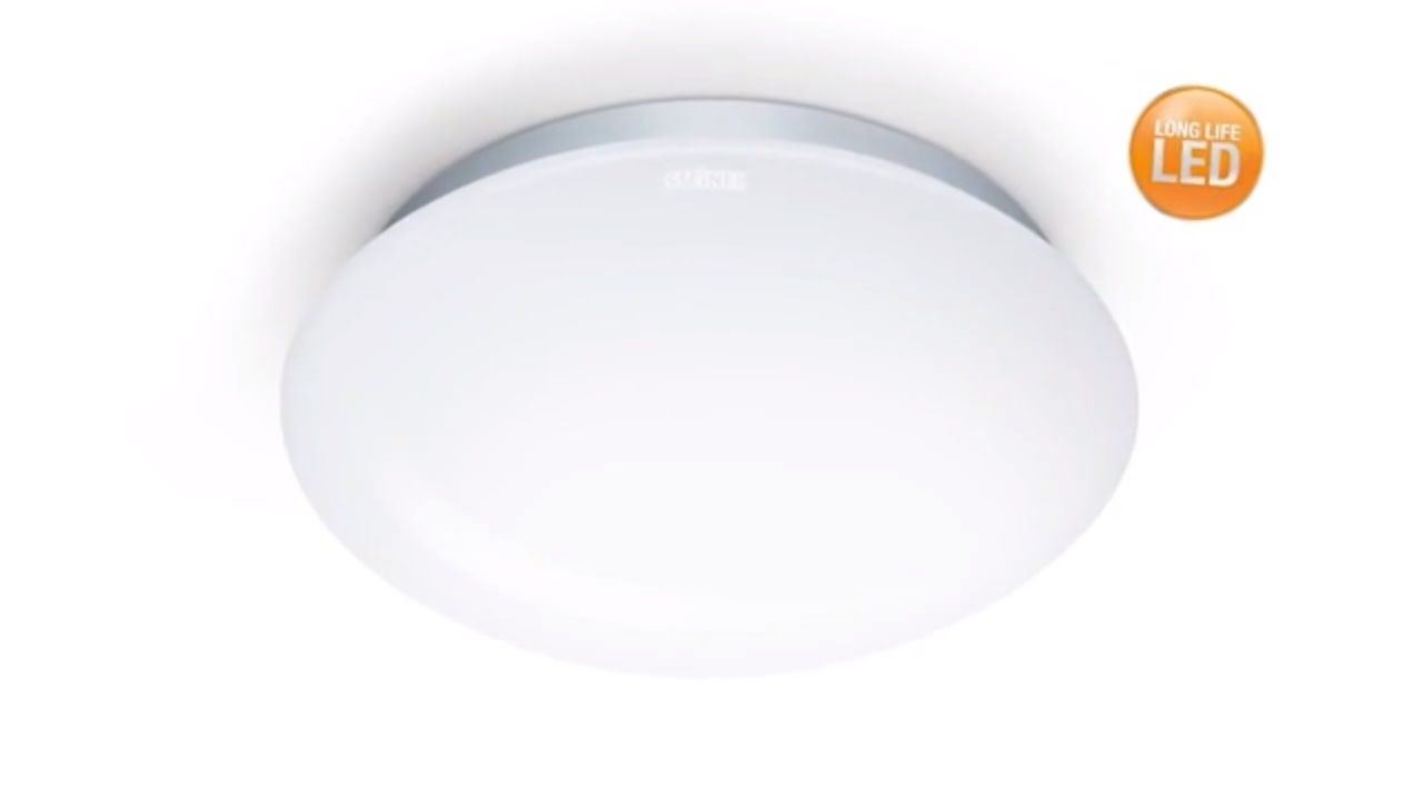 How To Install And Commission Indoor Motion Sensor Led Light From Steinel Germany Led Lights Light Sensor Motion Sensor Lights