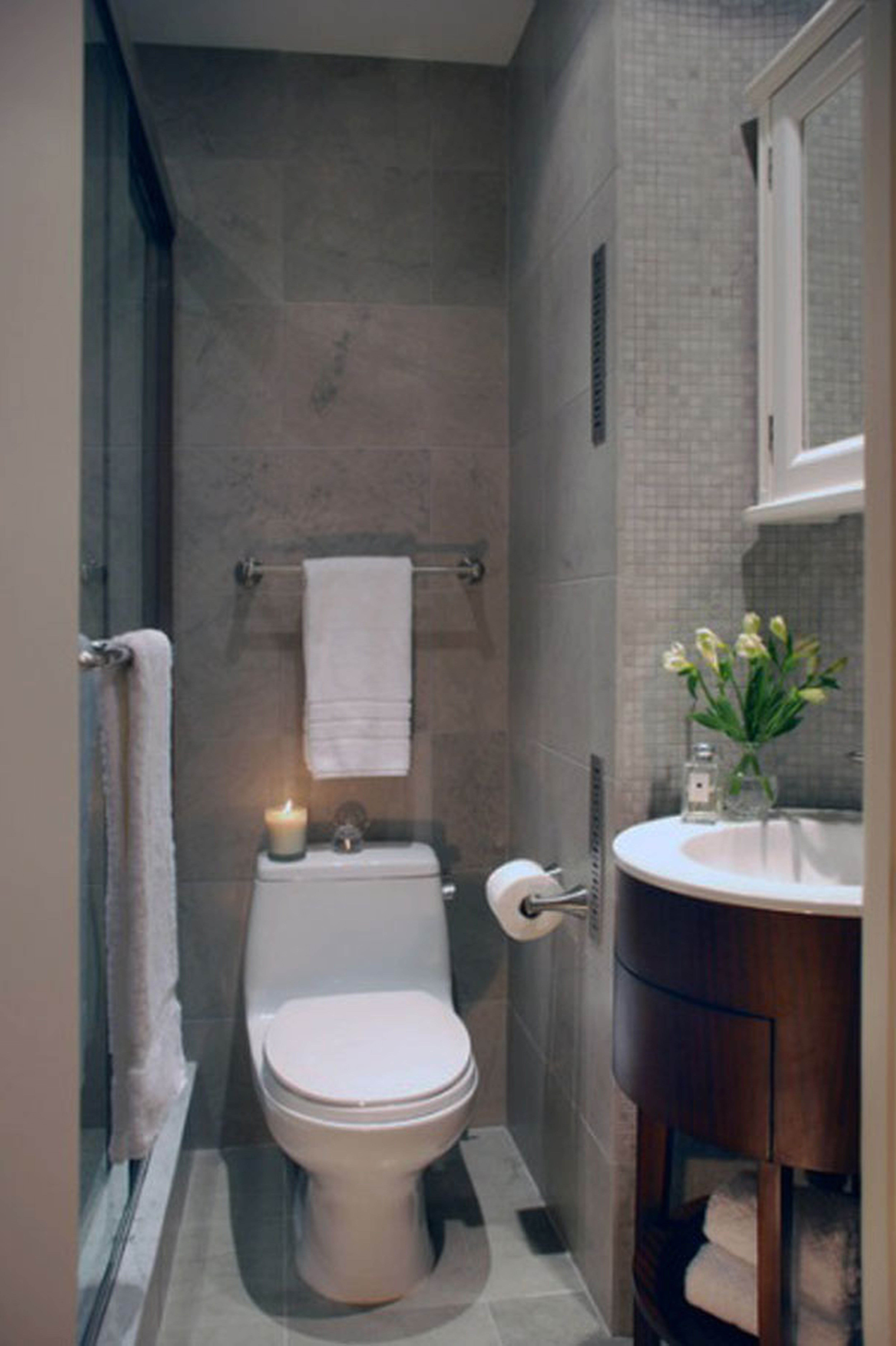 Badezimmer ideen whirlpool  atemberaubende schmale badezimmer entwürfe ideen   badezimmer