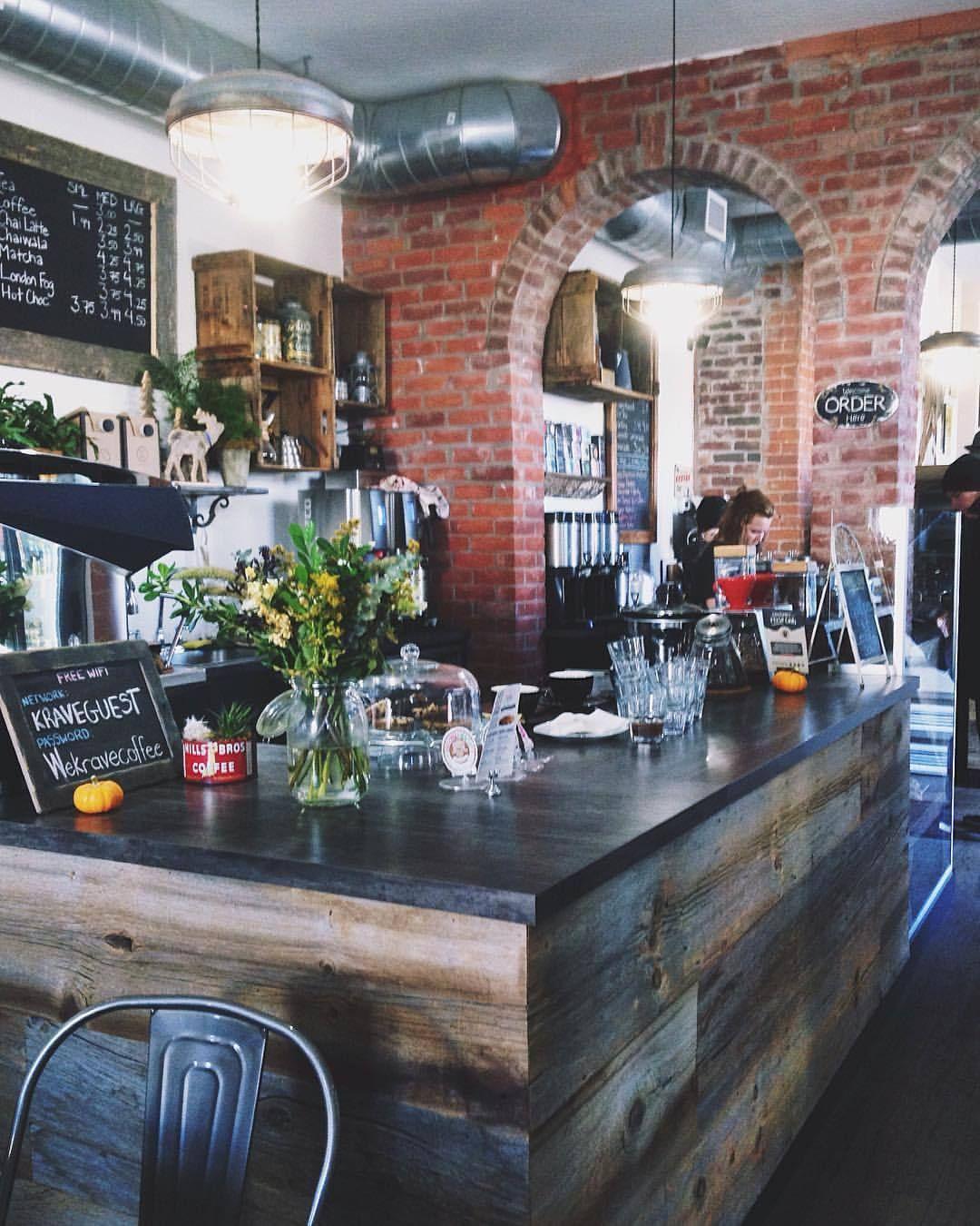 Cosy coffee shops ☕️ cafe toronto (à Krave Coffee