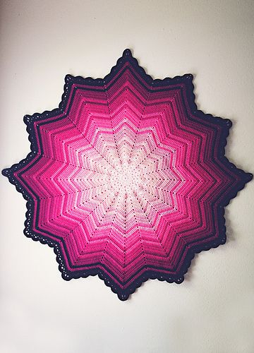 Crochet Study In Pink Full Pinterest Free Pattern Blanket And