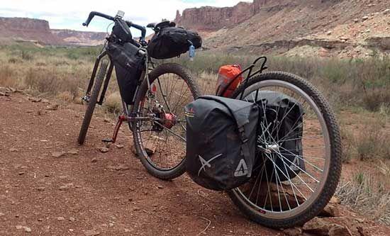 The Extrawheel A Trailer For The Trail Adventure Bike Bike