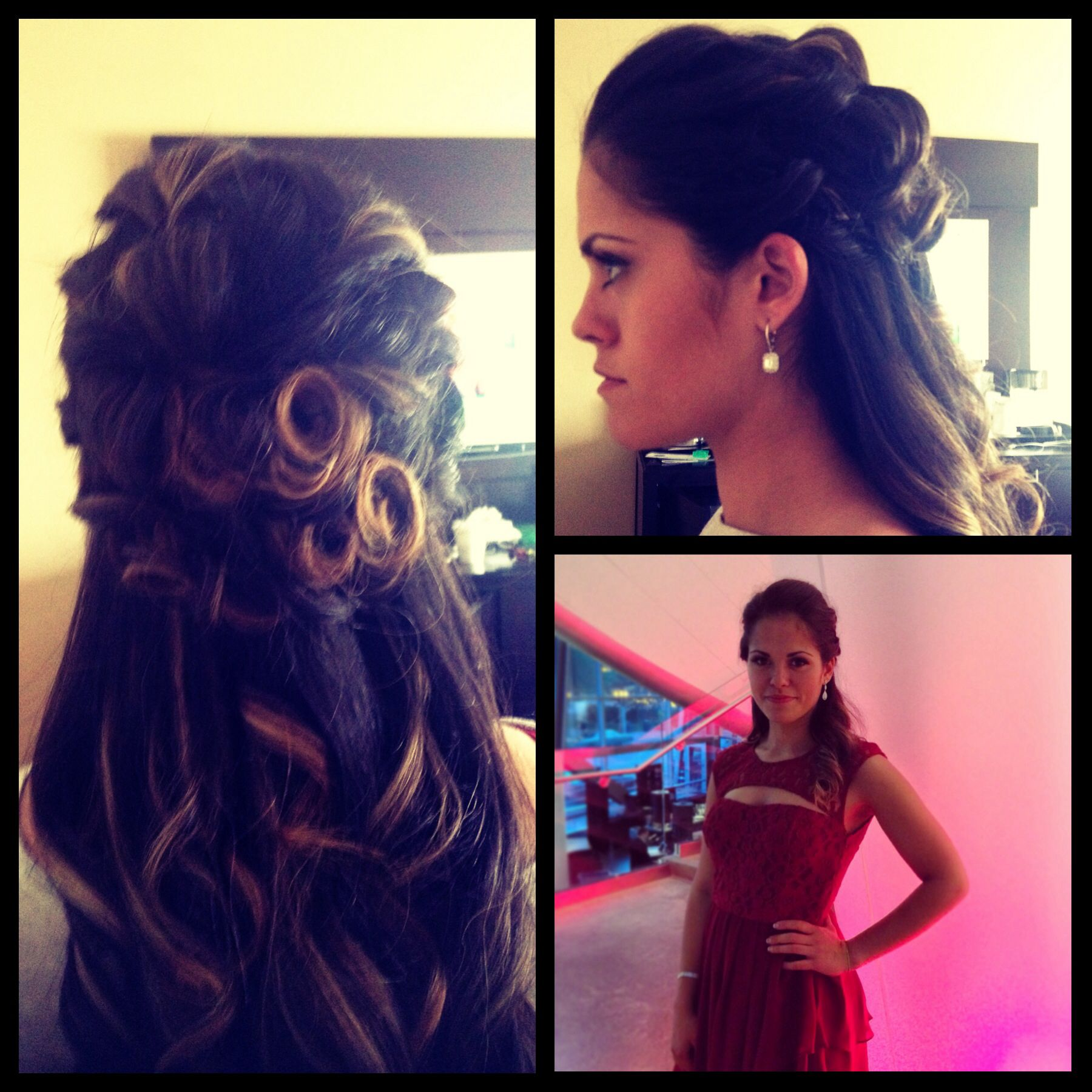 graduation/convocation hairstyle diy | hairstyles | pinterest