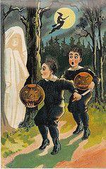 Reproduction Halloween Postcard