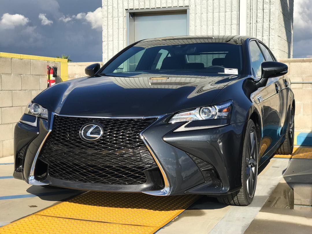 2017 Lexus GS 350 F Sport in Smoky Granite Mica (With
