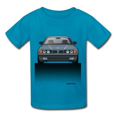 BMW 740i E36 Kids T-Shirt by Artsmoto #CarArt #CarTees | spreadshirt.com