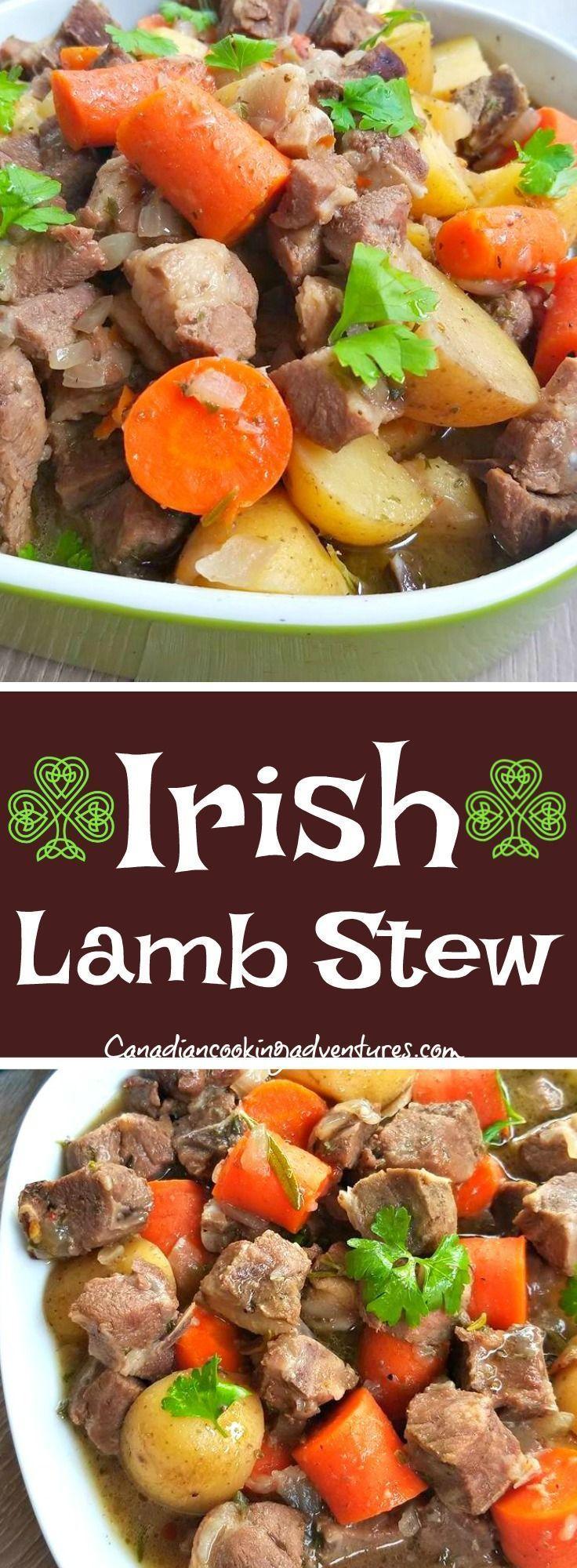 Recipes Irish Lamb Stew!!