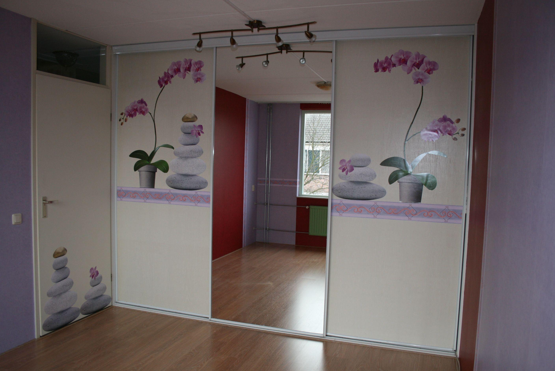 Gamma Laminaat Aanbieding : Onze slaapkamer met laminaat en nieuw behang rood en lila maar