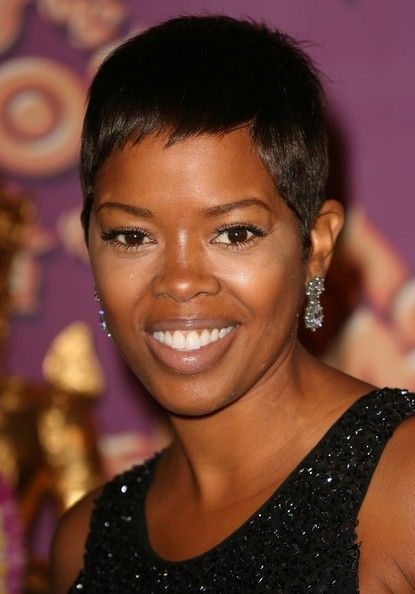 Cute Very Short Hairstyles For Long Faces Black Women With Straight