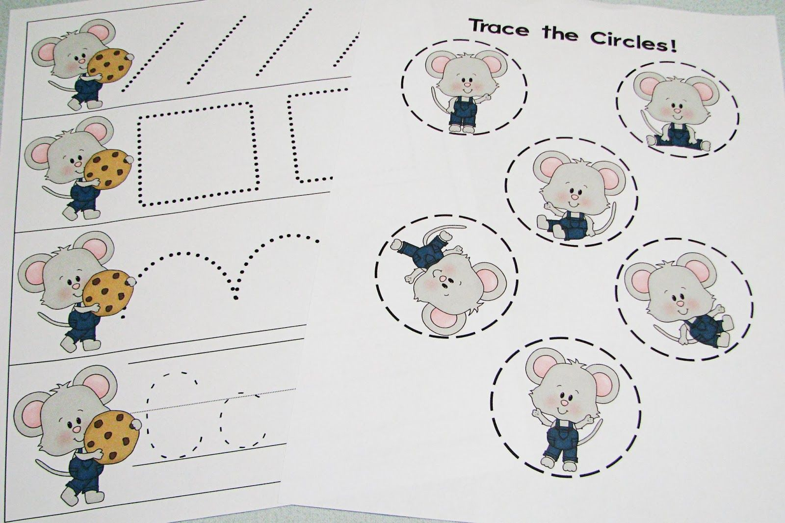 If You Give A Mouse A Cookie Preschool Theme