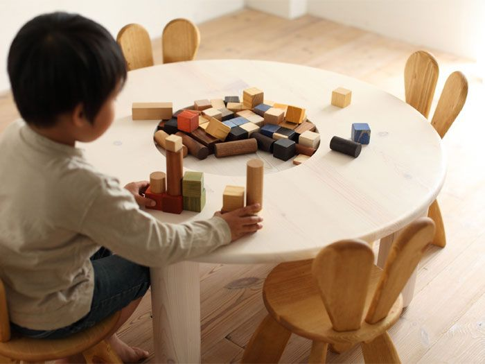 Awesome Ecological And Funny Furniture For Kids Bedroom By Hiromatsu :  Ecological And Funny Furniture For Kids Bedroom By Hiromatsu With White  Wooden Table ... Great Ideas