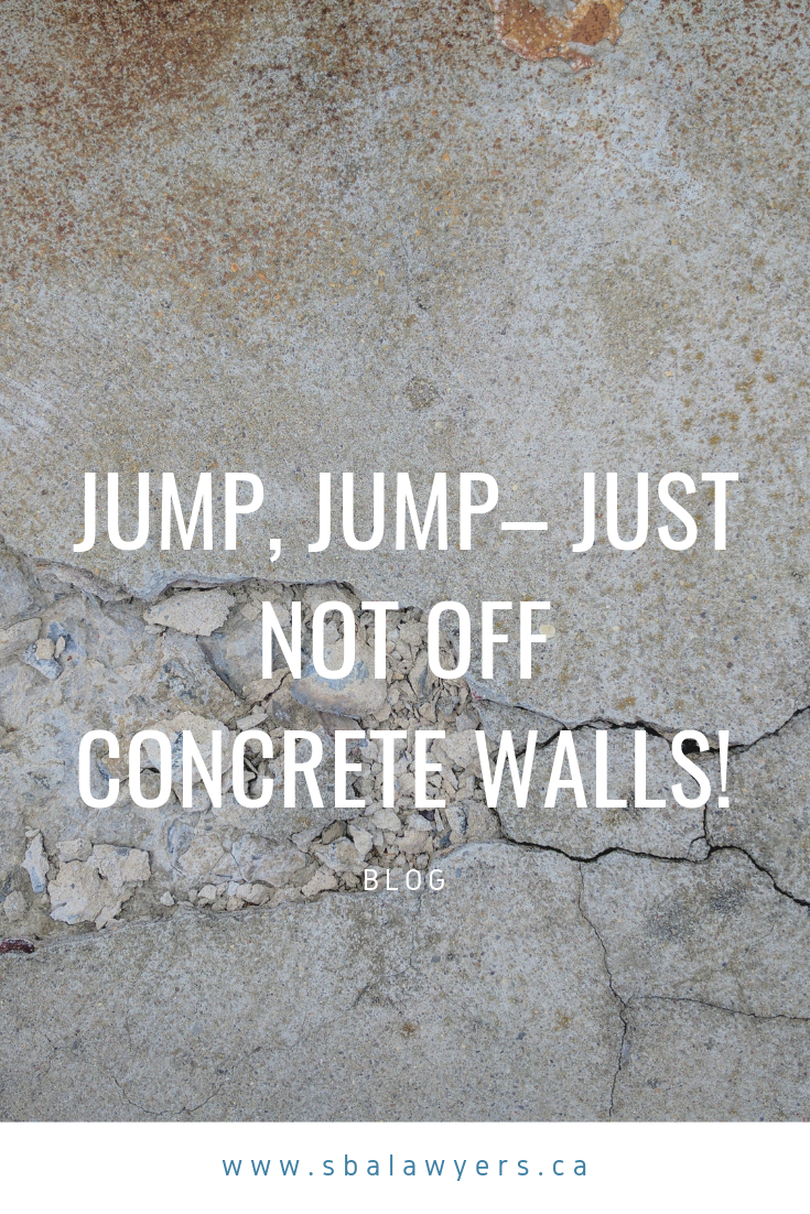 Jump Jump Just Not Off Concrete Walls Concrete Wall