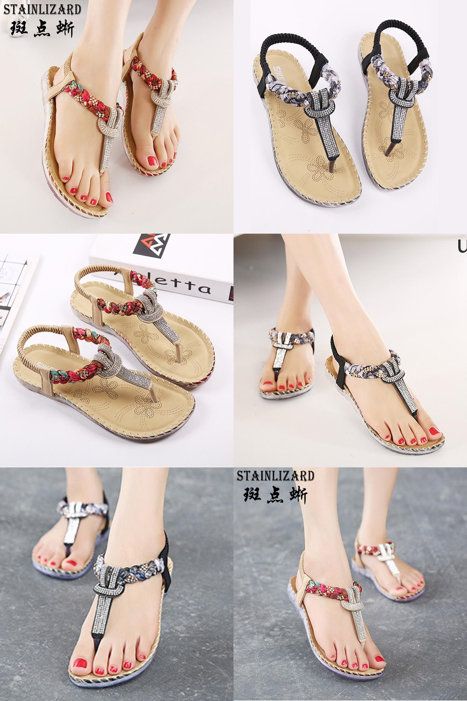 e14a56f1ecb4a1  Visit to Buy  Women Sandals Bohemia Women Casual Shoes Sexy Beach Summer  Girls Flip