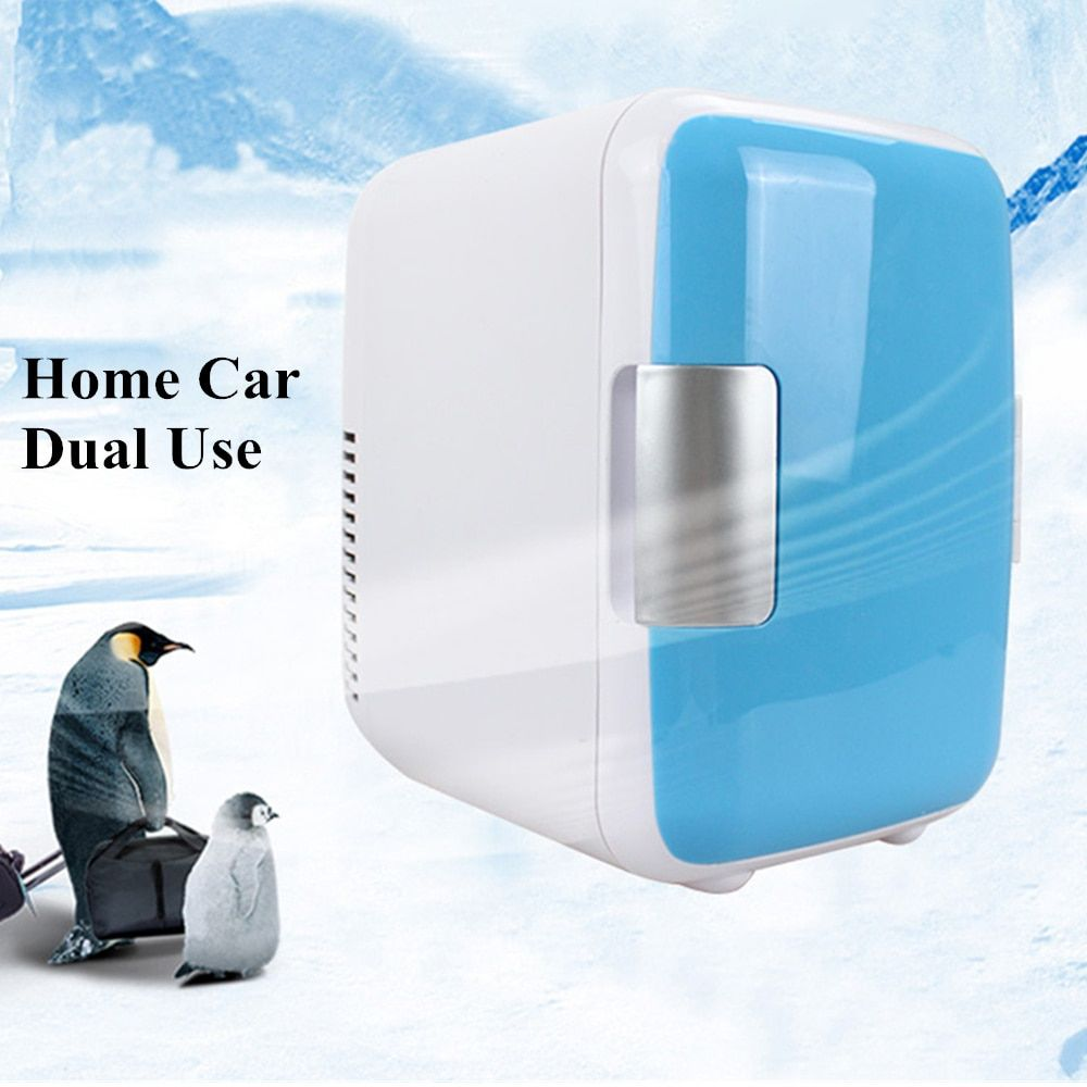 Dual Use 4l Home Car Use Refrigerators Mini Refrigerators Freezer Cooling Heating Box Cosmetic Fridge Makeup Refrigerators In 2020 Refrigerator Freezer Refrigerator Heating Cooling