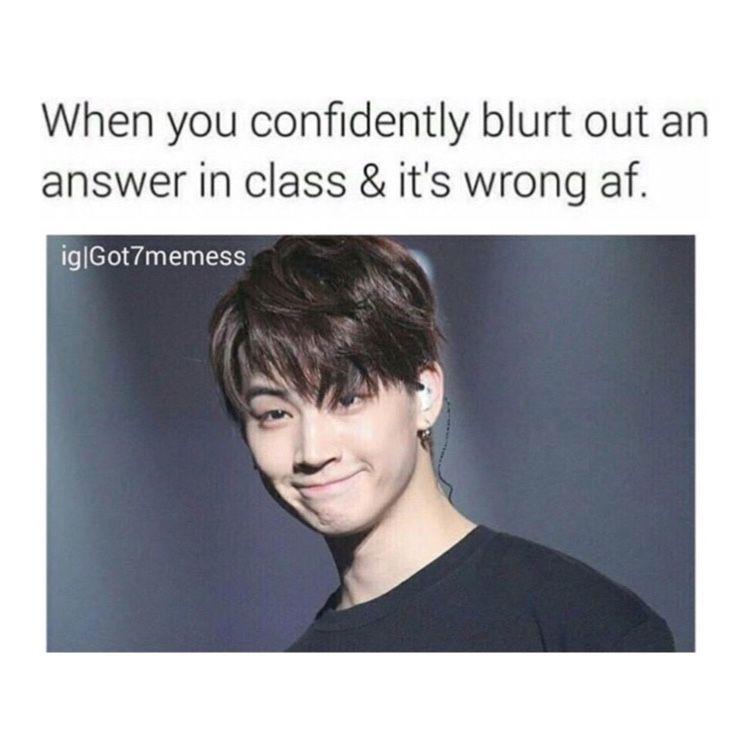 Kpop jaebum and JB image Aesthetic Got7 meme Memes Kpop