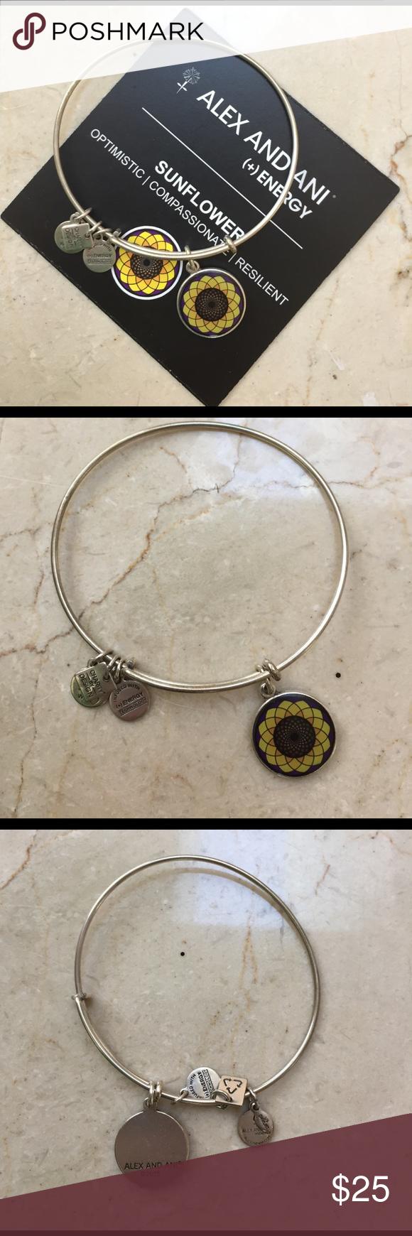 Alex and Ani Alex and Ani sunflower bracelet Alex & Ani Jewelry Bracelets