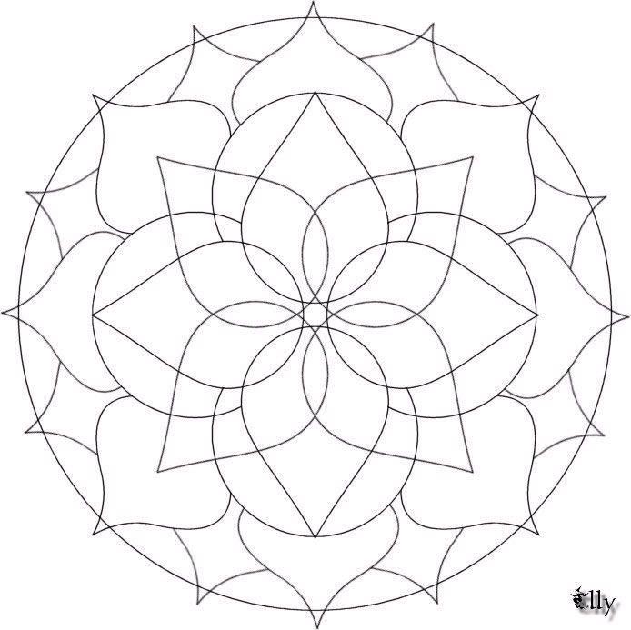 Imagens de Mandalas para Colorir! Para ver a imagem em boa resolução ...