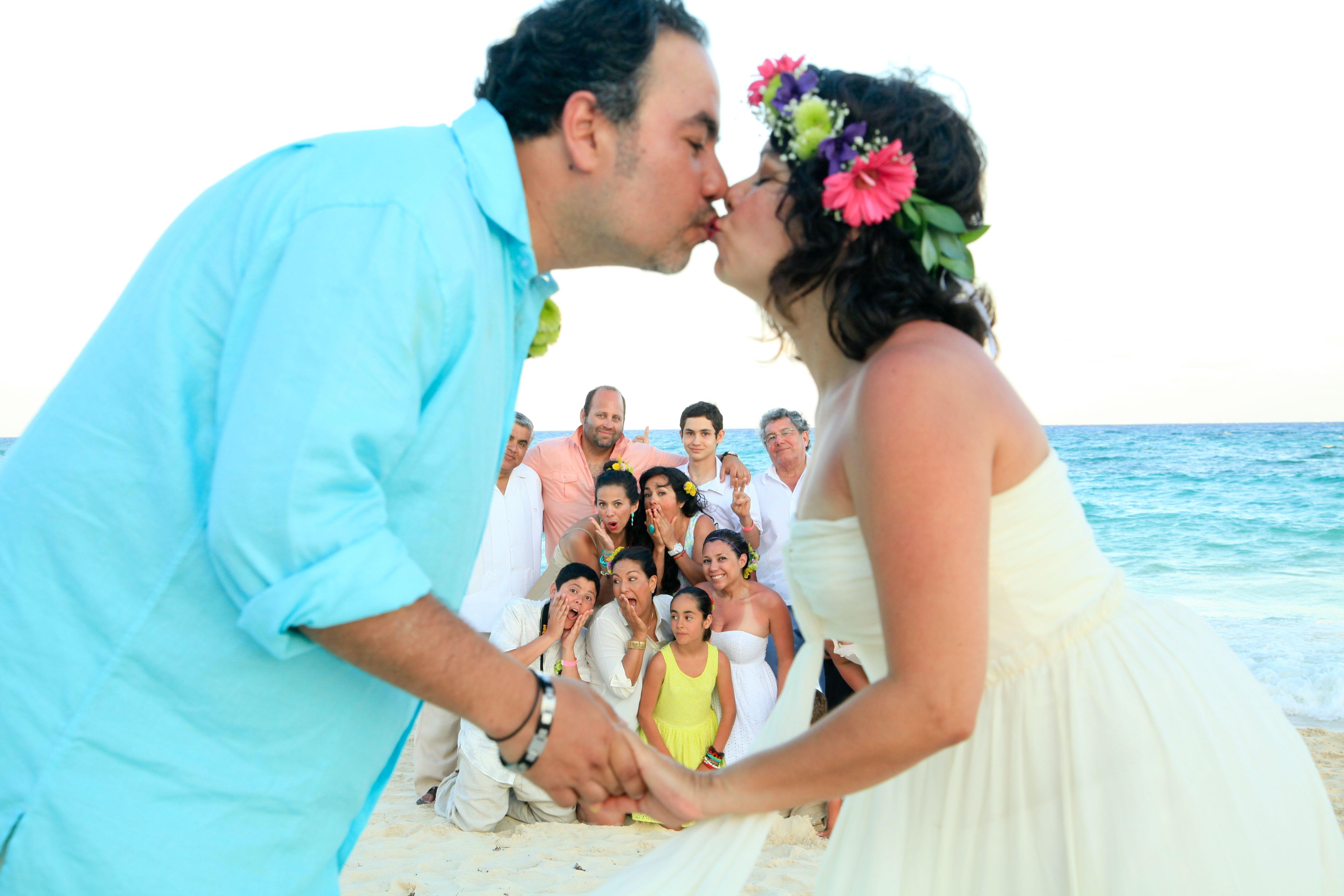 Our magical mayan ritual wedding in playa del carmen #beachwedding #Mexico #destinationwedding #playadelcarmen boda playa playa del carmen photo idea.