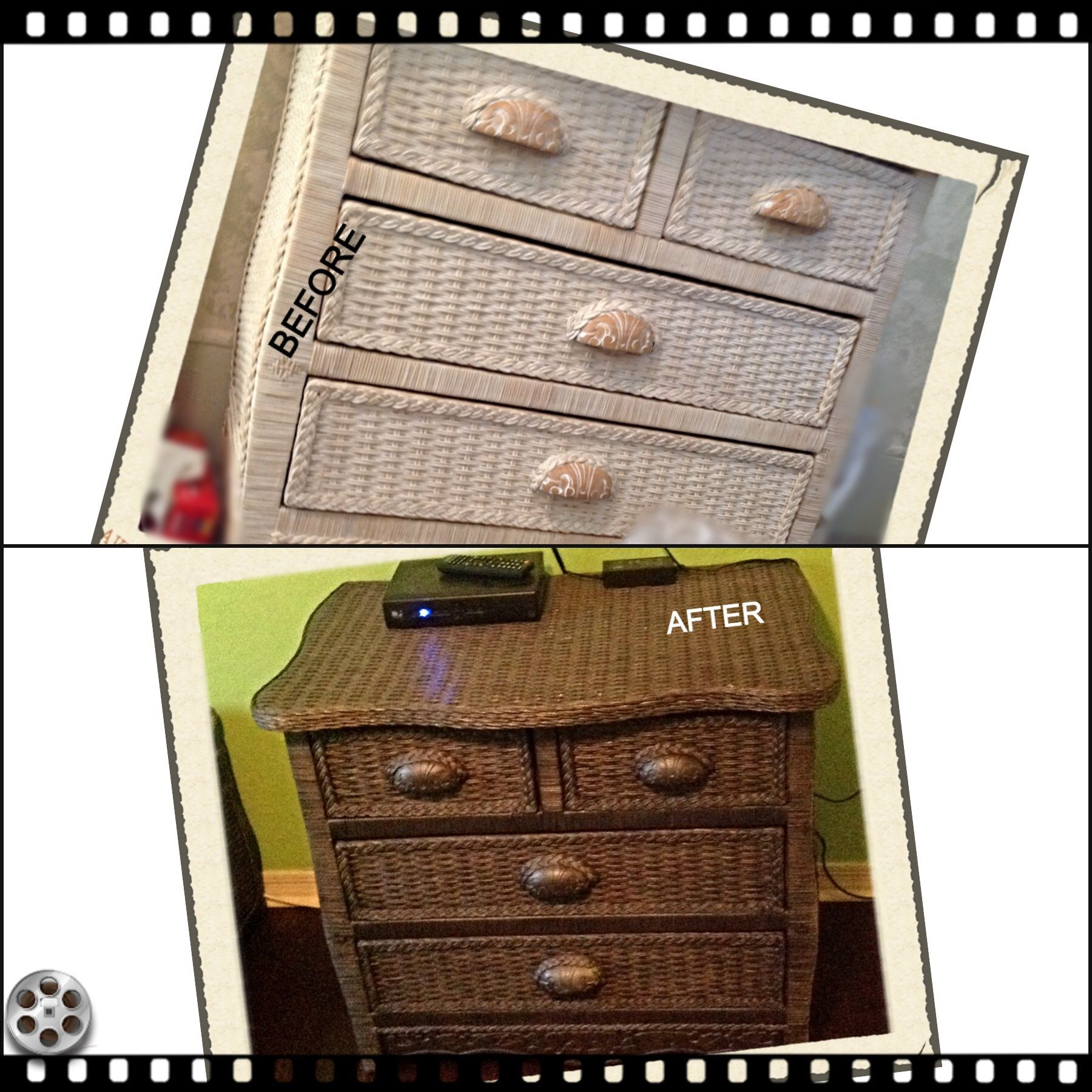 Rattan Bedroom Sets Asian Paints Bedroom Colours Combination Bedroom Renovation French Style Bedroom Chairs: 4 Drawer Wicker Dresser Dressed Up!