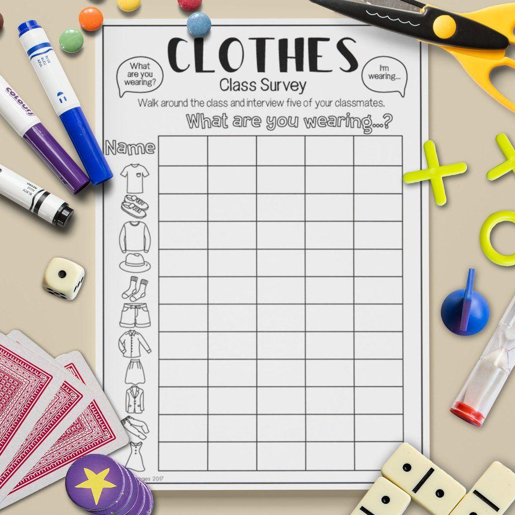 Clothes Class Survey