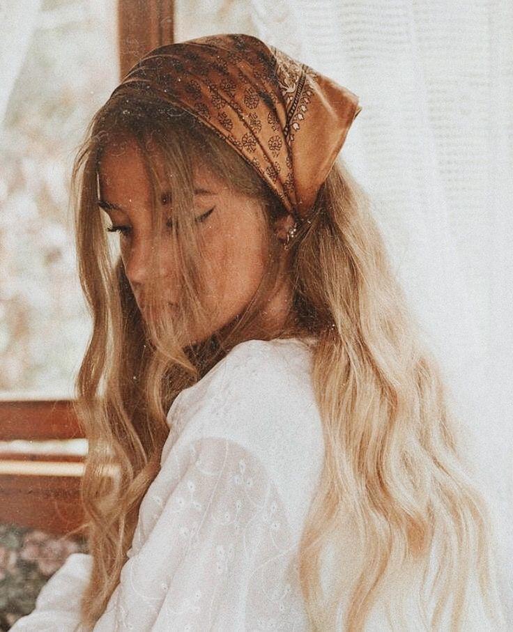 Pin By Spencer Herriott On Hair Hair Styles Scarf Hairstyles Long Hair Styles