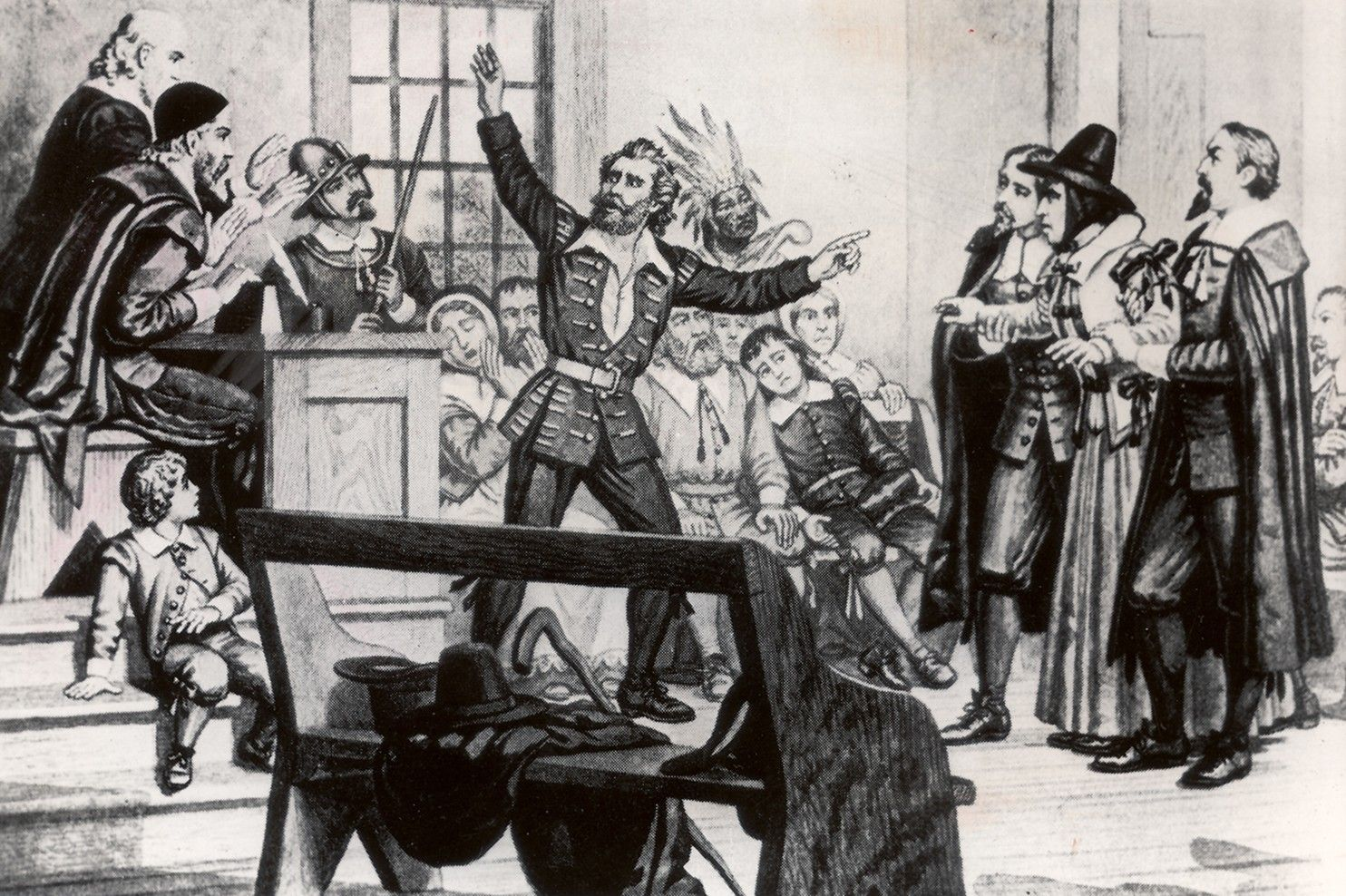 Salem Witch Trials Execution Site Found, And It's Behind A Walgreens