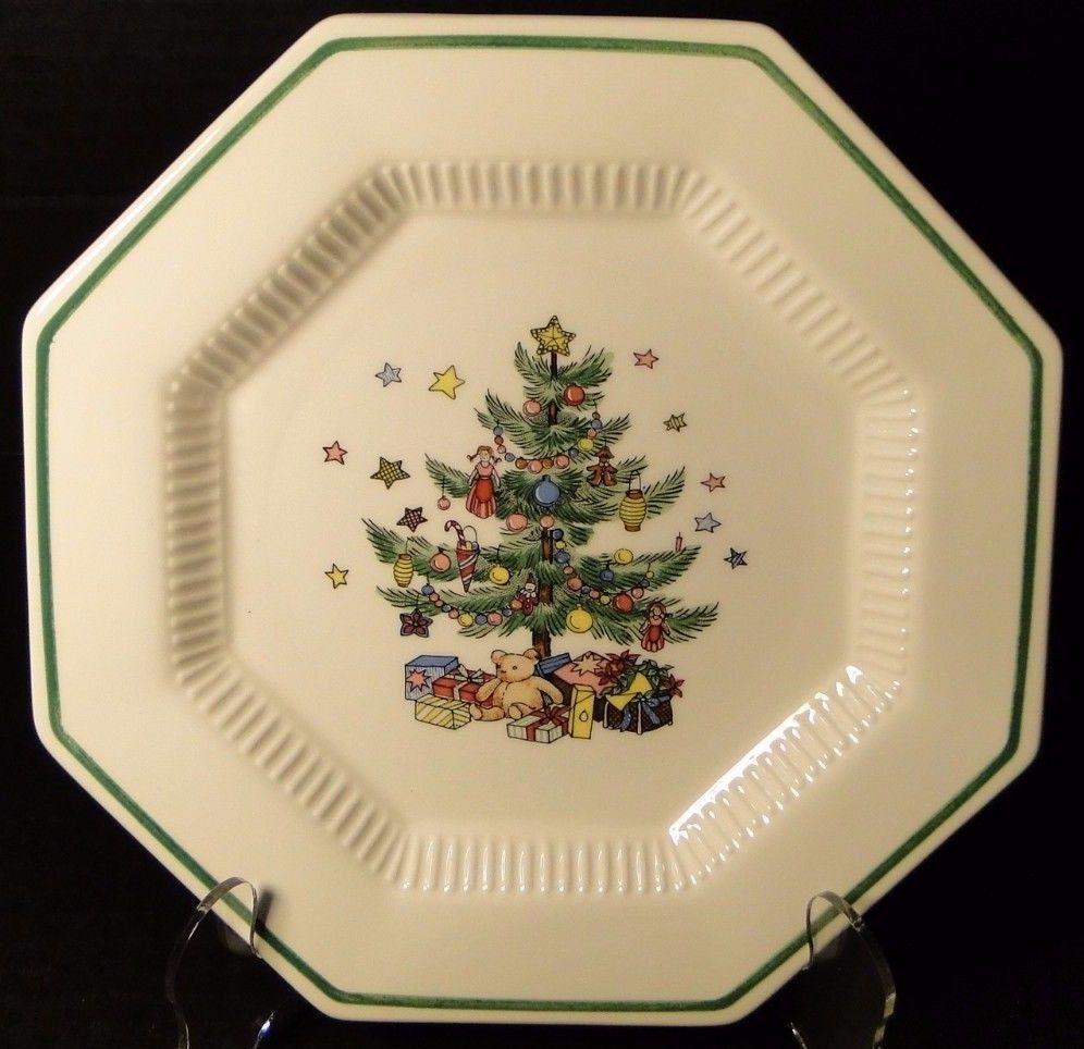Nikko Christmastime Dinner Plate 10 3/4\