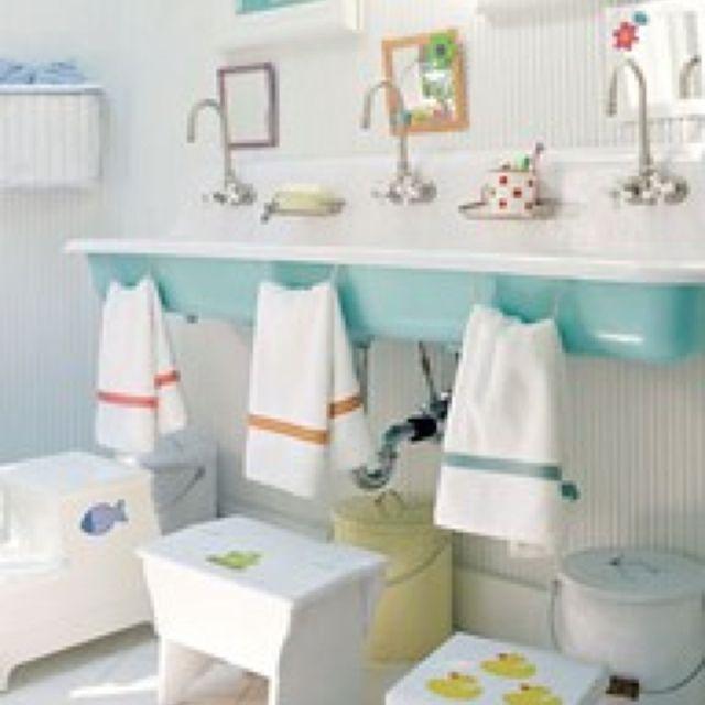 Salle de bain enfant Inspiration salle de bains Pinterest Kid
