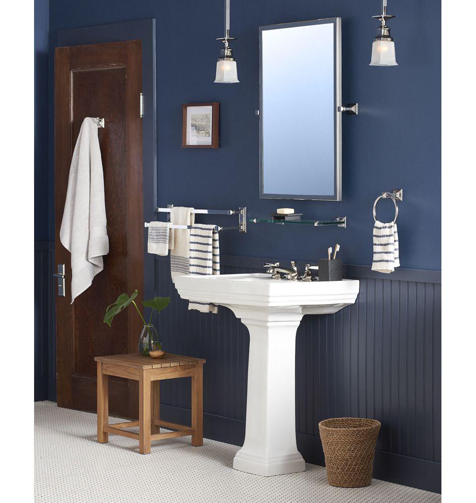 Stepped Pedestal Sink | Rejuvenation | For Belle\'s Bathroom ...