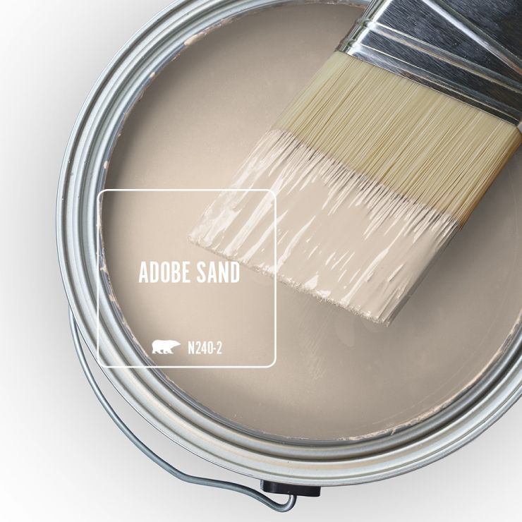 Calming Colors That Will Perfect Your Home: Color Of The Month: Adobe Sand