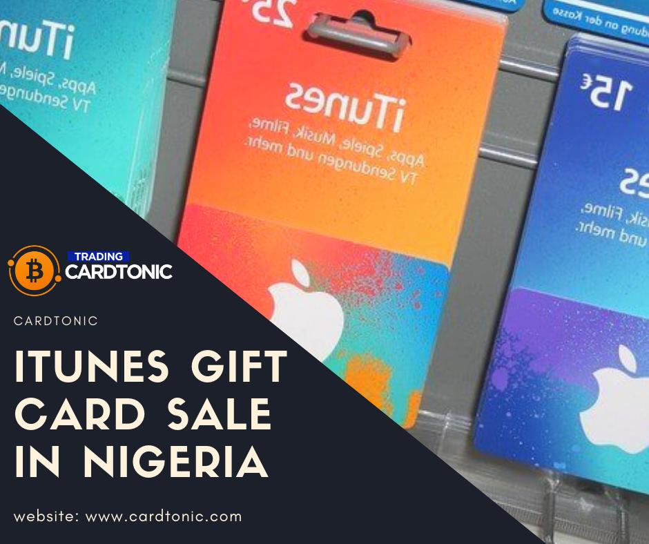 Itune Gift Card Sale In Nigeria Cardtonic Free Itunes Gift Card Best Gift Cards Itunes Gift Cards