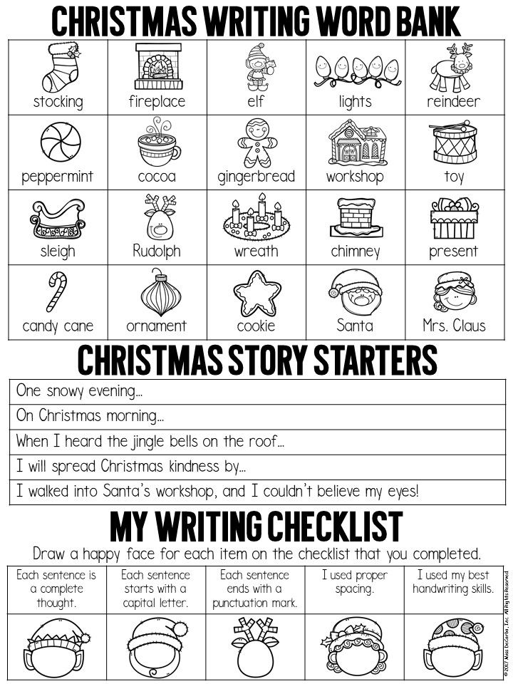 Get this FREE Christmas writing printable to use in your ...