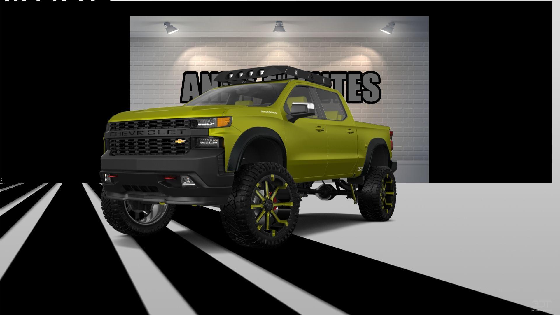 Checkout my tuning Chevrolet Silverado1500 2019 at