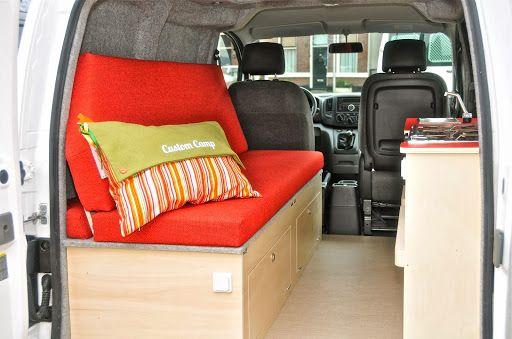 nissan nv200 camper camp fourgon fourgon am nag van. Black Bedroom Furniture Sets. Home Design Ideas