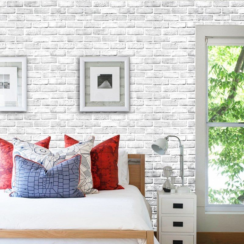 Creative 3D Waterproof Brick Wall Stickers SelfAdhesive