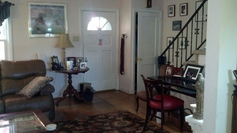 Before Entryway Living Room My Living Room Is Challenging There Is No Foyer So Guests Enter R Furniture Placement Furniture Arrangement Decorating Your Home #no #entryway #living #room