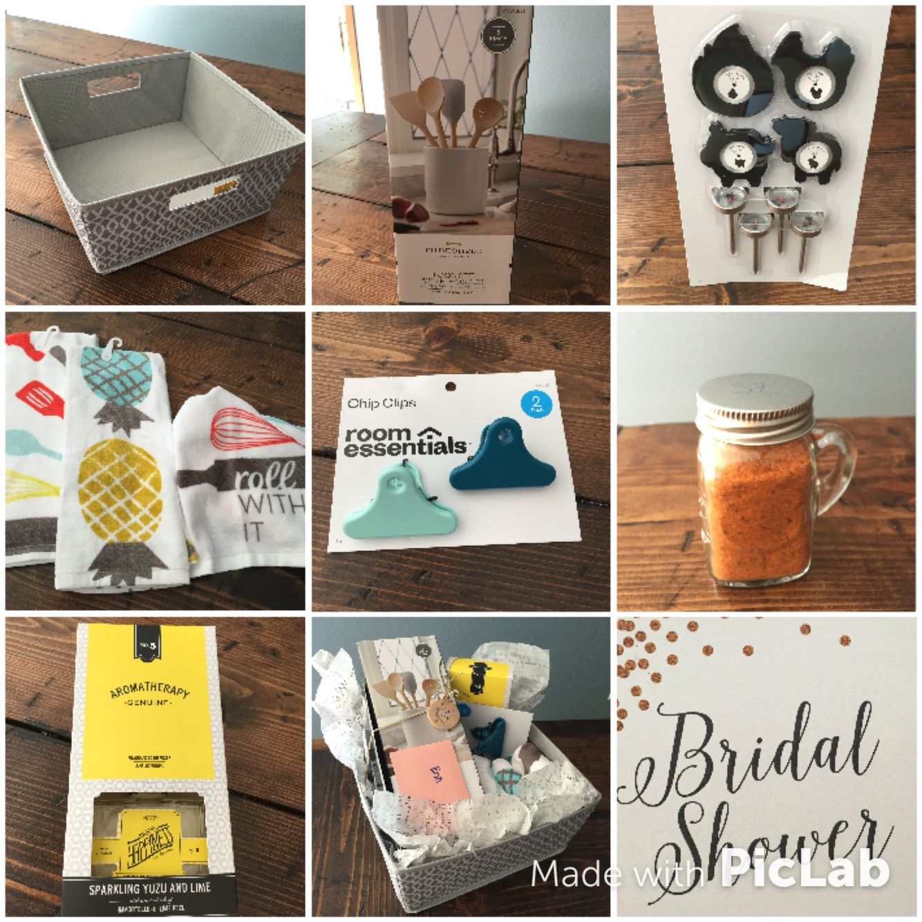 Target Wedding Gifts: Bridal Shower Gift: Use A Cute Basket Instead Of A Gift