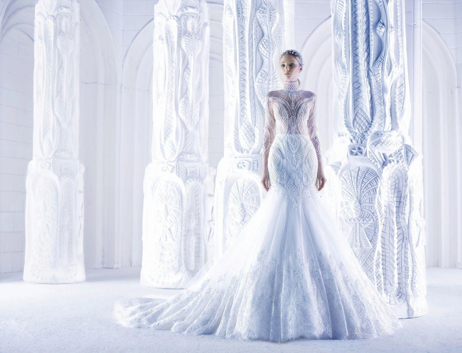 Michael Cinco wedding gown   Wedding Dresses - White   Pinterest ...