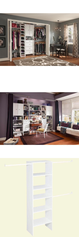 Closet Organizers 43503: Closetmaid Selectives 25 In. White Custom Clothes  Closet Wardrobe Organizer New
