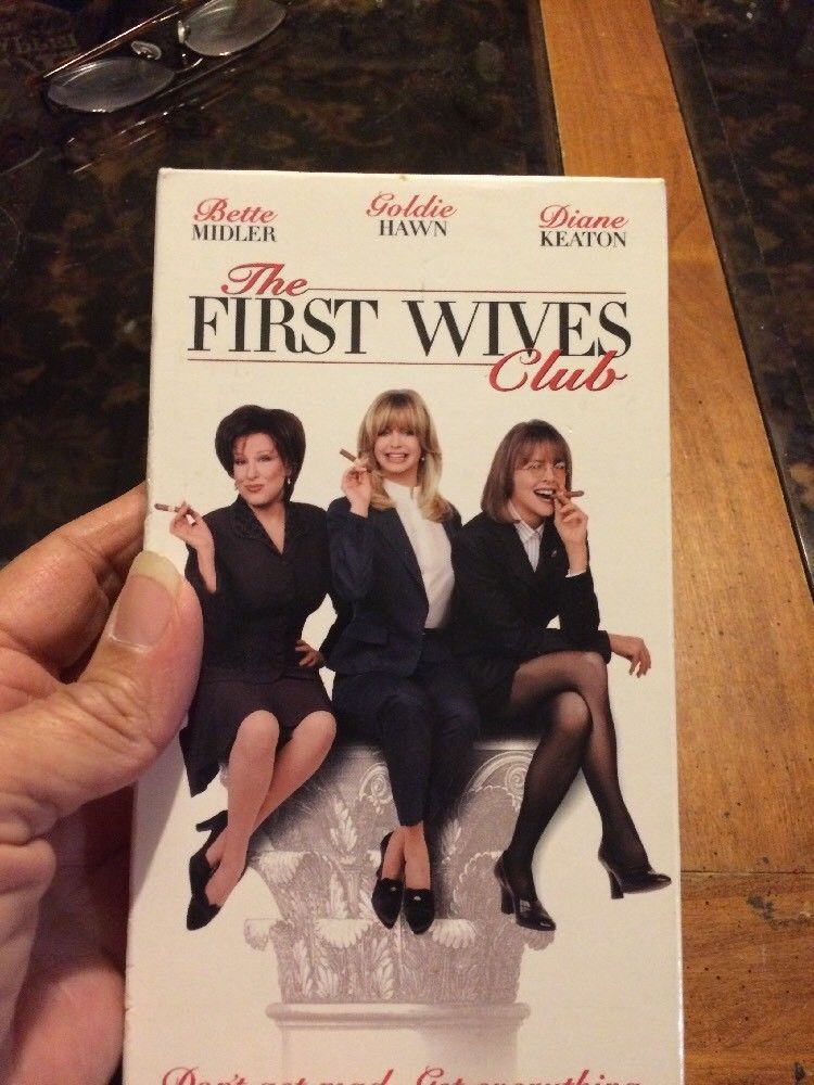 Details about the first wives club vhs 1997 in 2020