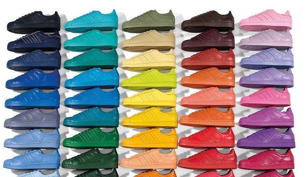tout neuf 61b2c 0a005 Sneakers. Le Superstar Supercolor pack d'Adidas Originals ...