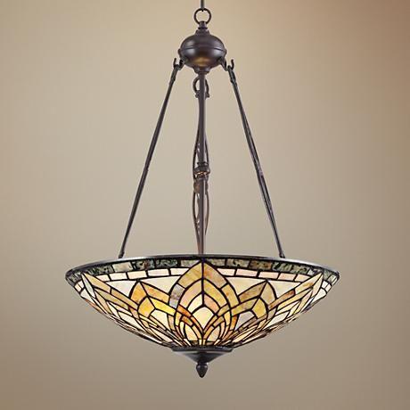 Jadestone 20 Wide Tiffany Style Pendant Light 1g909