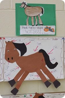 How fun are these horse activities? Perfect for teaching your kindergarten, first grade, and second grade students about horses or The Kentucky Derby in May! Too fun!