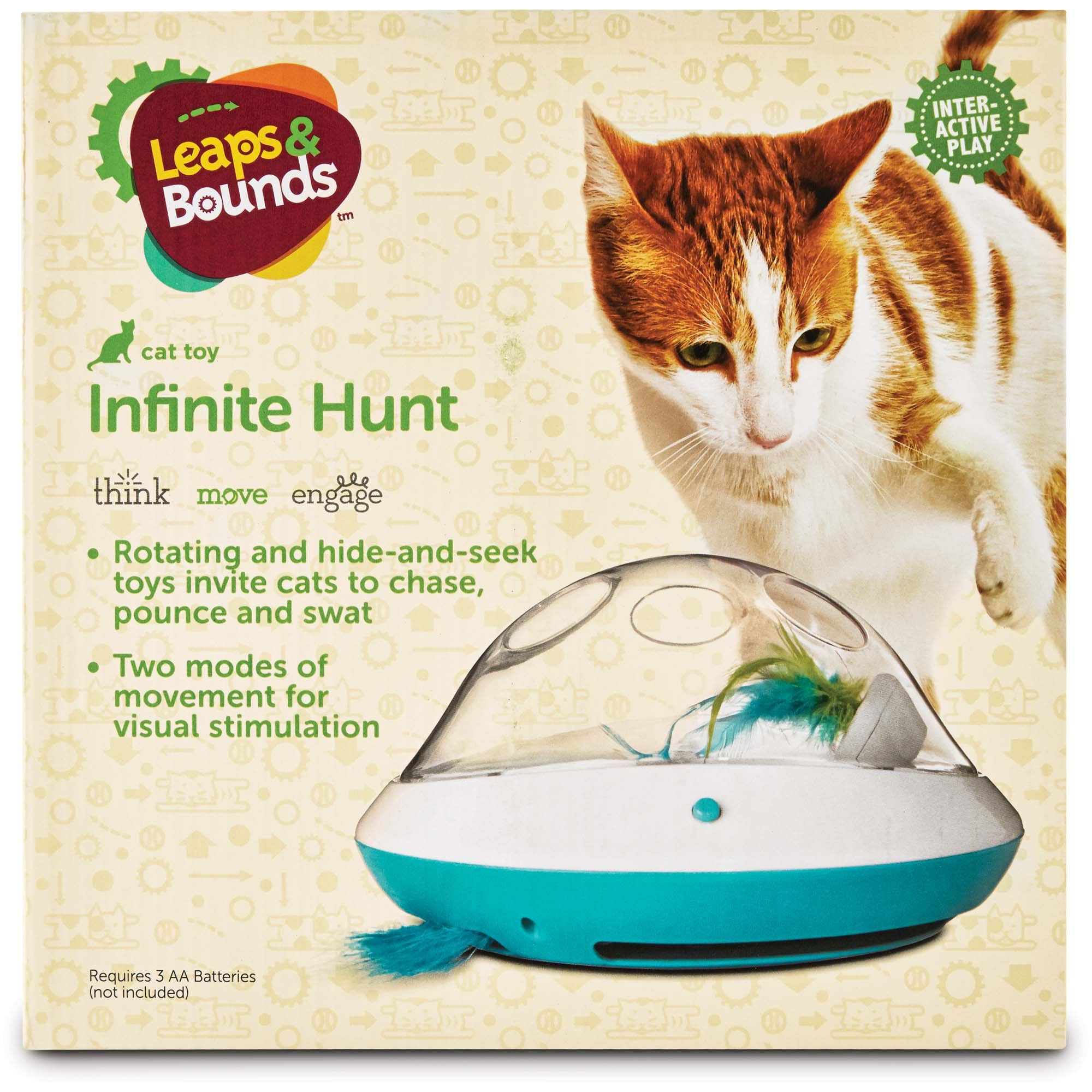 Leaps Bounds Electric Play Dome For Cats Cats Cat Toys Kitten Care