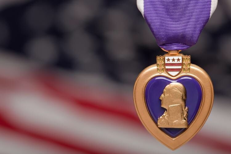 William Shatner @WilliamShatner  18h18 hours ago Honoring those who have fought  for freedom.  #PurpleHeartDay