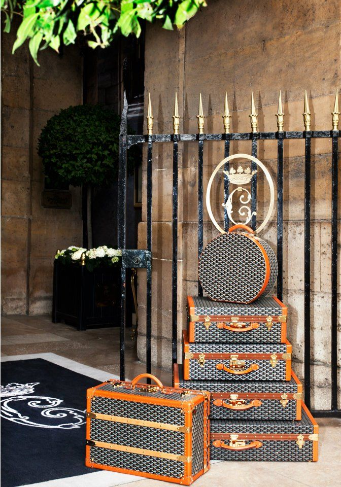 TRAVELS WITH GOYARD since 1853  http://www.goyard.com/goyard.html  #GOYARD