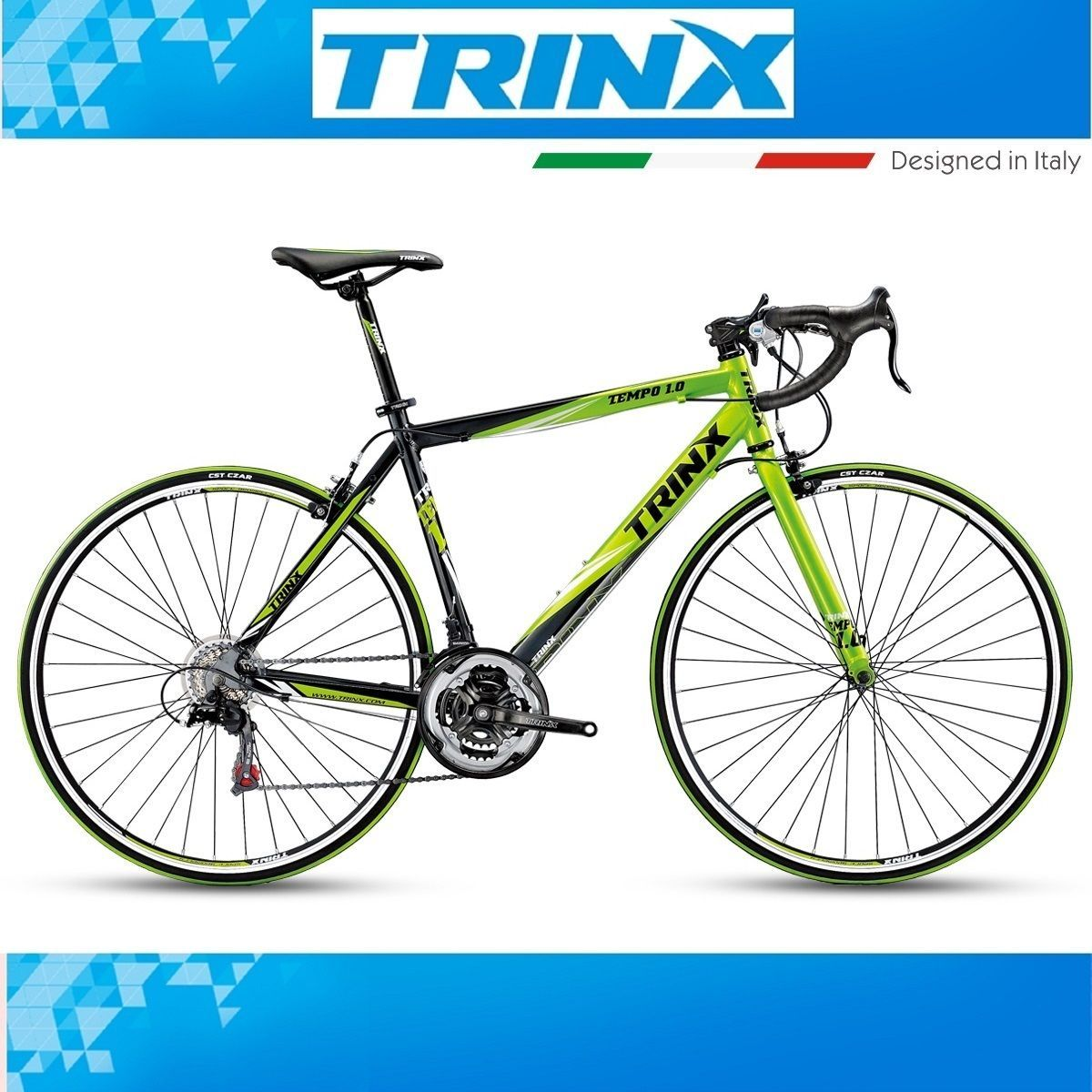 Ebay Angebot 700c Rennrad 28 Zoll Trinx Tempo 1 0 Roadbike Rh 52