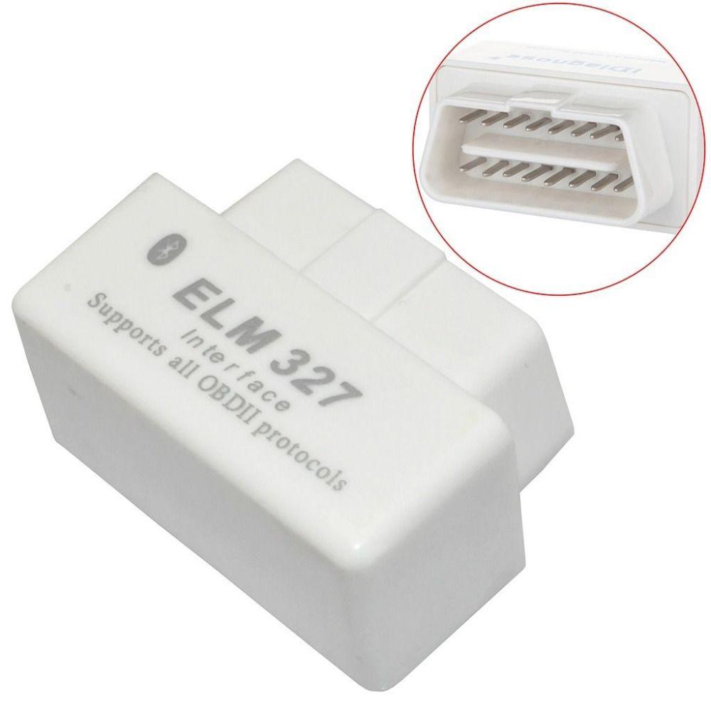 Super Mini ELM327 V2.1 OBD2 DEL OLMO 327 Bluetooth Interfaz Auto Car OBD Herramienta de Diagnóstico Del Escáner para Android Symbian de Windows Más Reciente #
