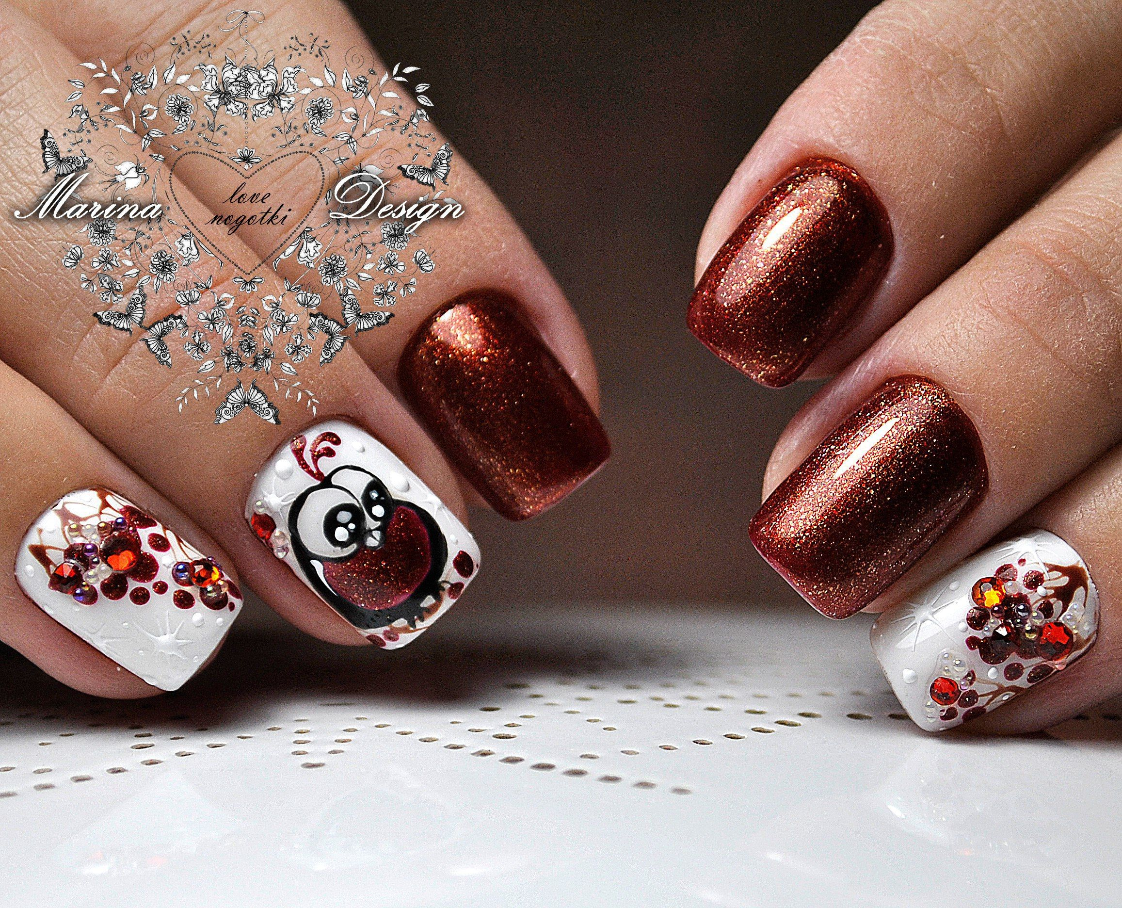 Manicure video tutorials art simple nail vk nails