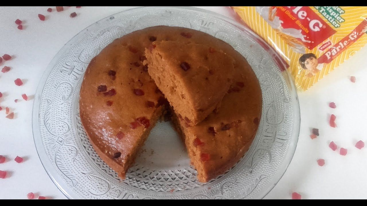 How to make parle g biscuit cake recipe in hindi
