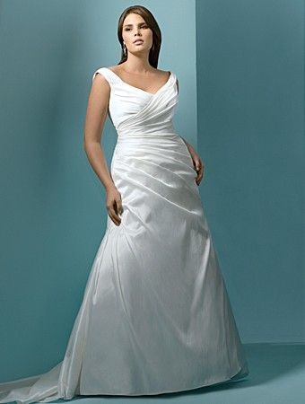 70a0284de46 Trendy Plus Size Wedding Dress That Will Boost Your Confidence On ...